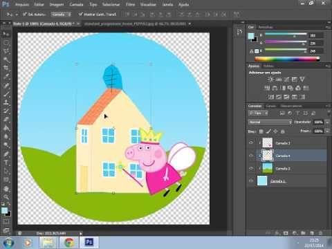 Personalização de festa em casa - Latinha personalizada - Peppa pig