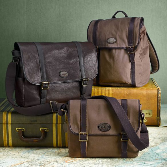 Men S Bag Collections Fossil