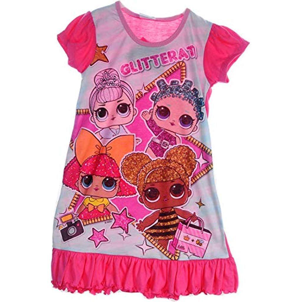 am besten geliebt bestbewertet auf Füßen Aufnahmen von L.O.L. Surprise! Nachthemd Kinder Pyjama Schlafanzug 110 116 ...