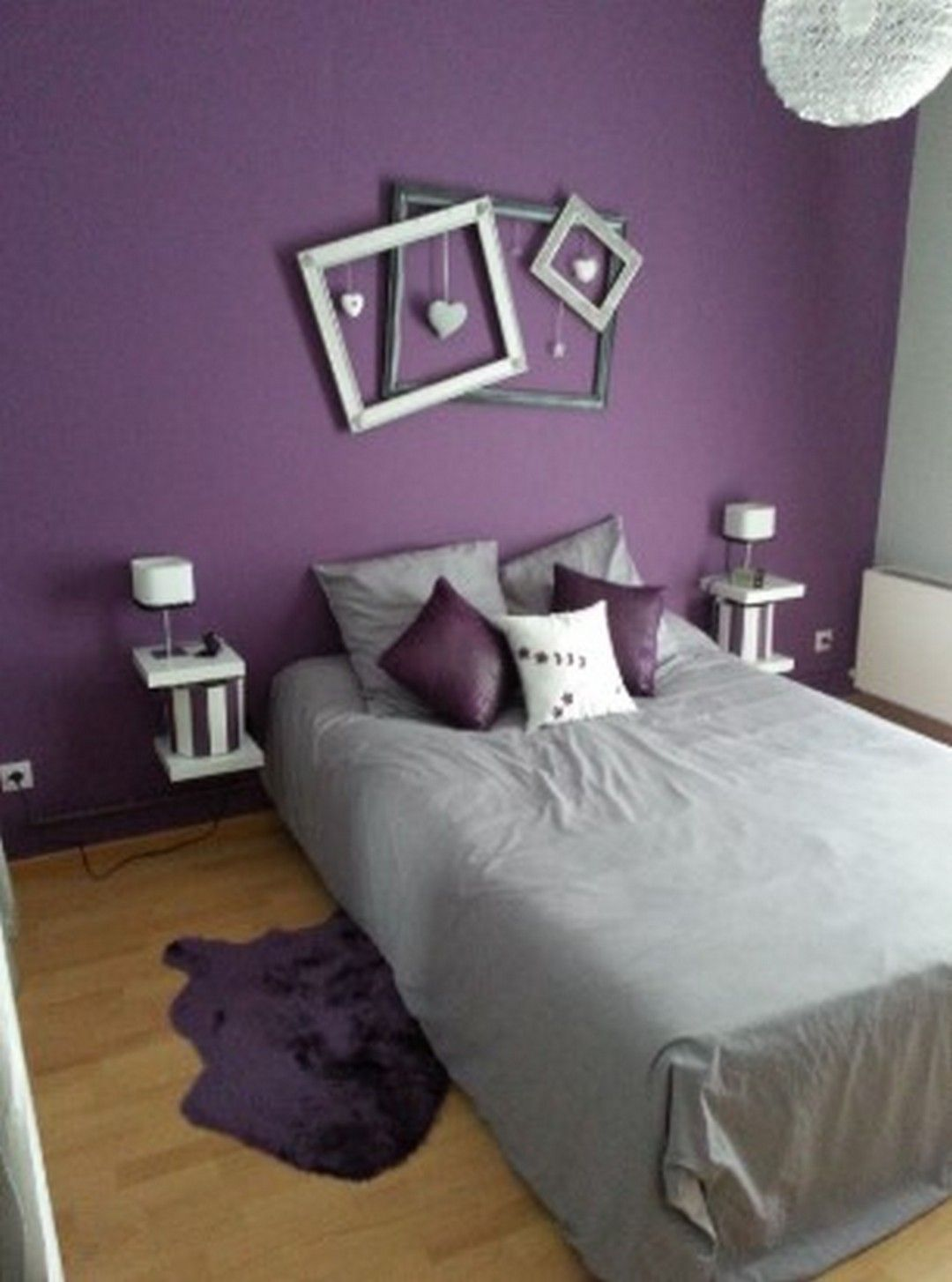 5 Purple Paint Color For Every Angle And Every Room Purple Bedroom Design Purple Bedroom Decor Purple Bedrooms Bedroom paint ideas purple
