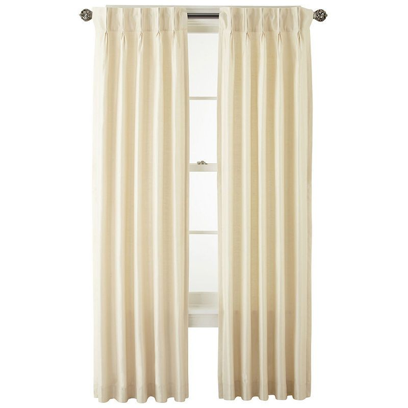 Jcpenney Home Supreme Energy Saving Light Filtering Pinch Pleat