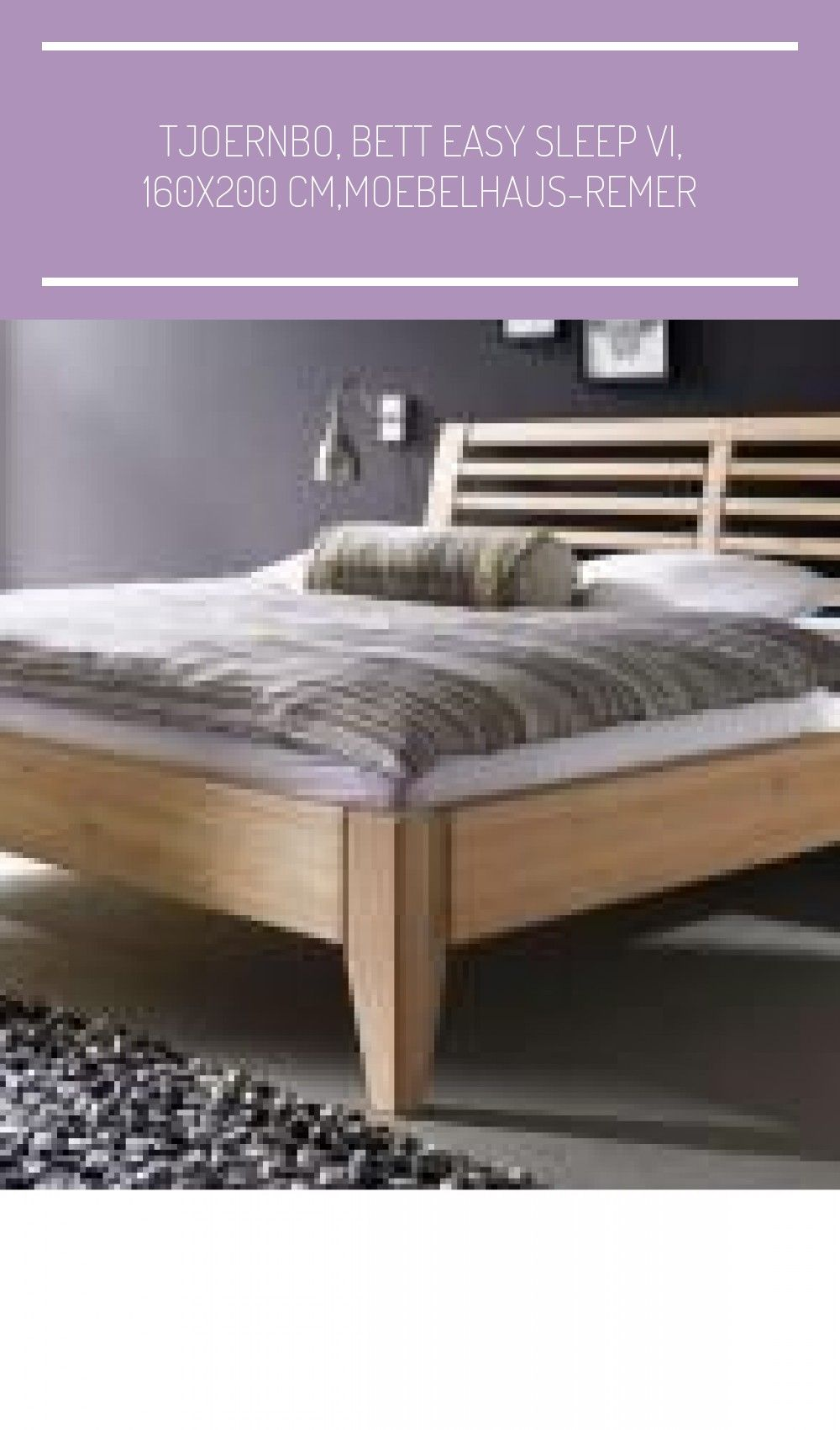 Tjoernbo Bett Easy Sleep Vi 160x200 Cm Moebelhaus Remer Haus Deko Ideen In 2020 Home Decor Home Furniture