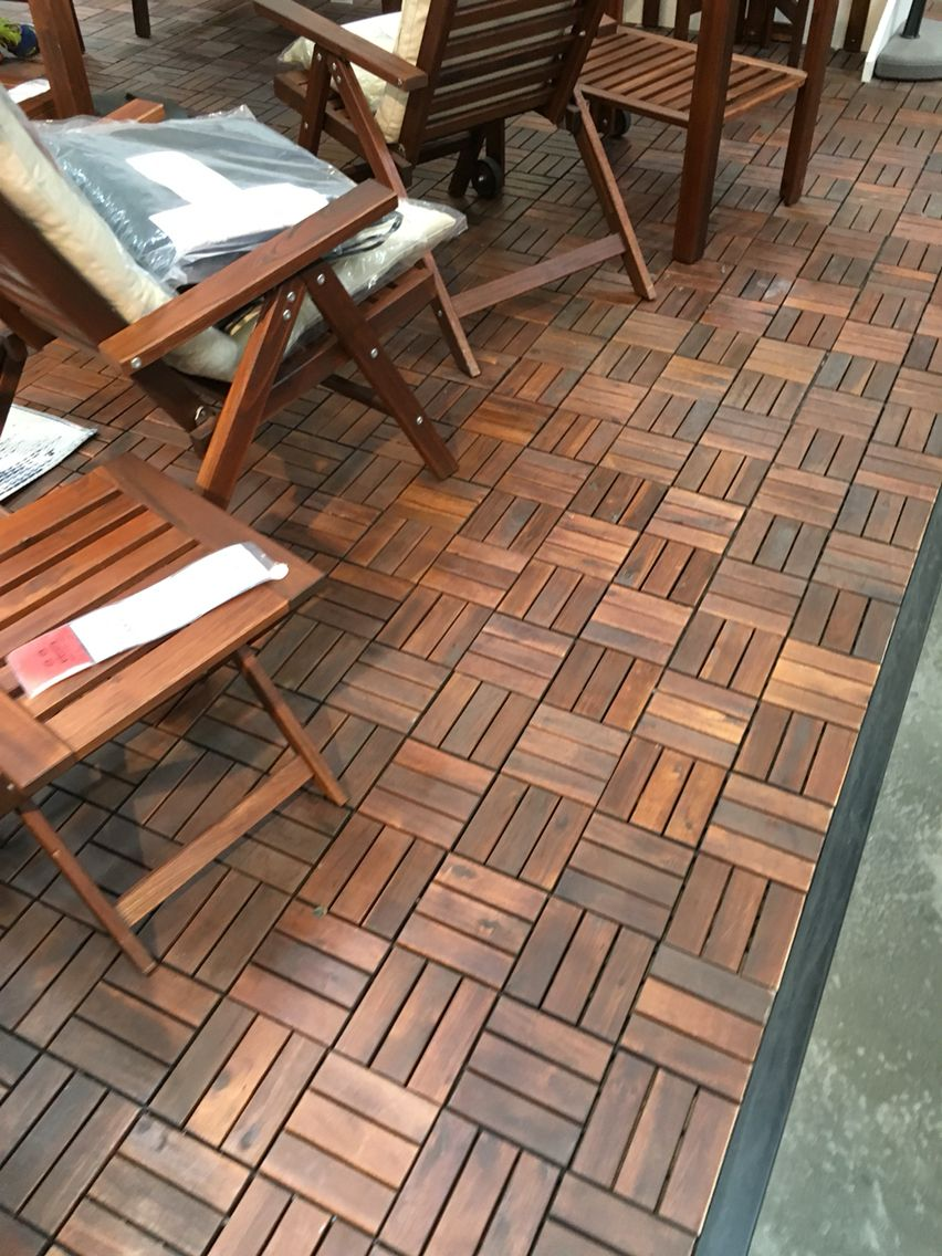 Ikea Outdoor Floor Patio The Cheap Pinterest Patios And Decking