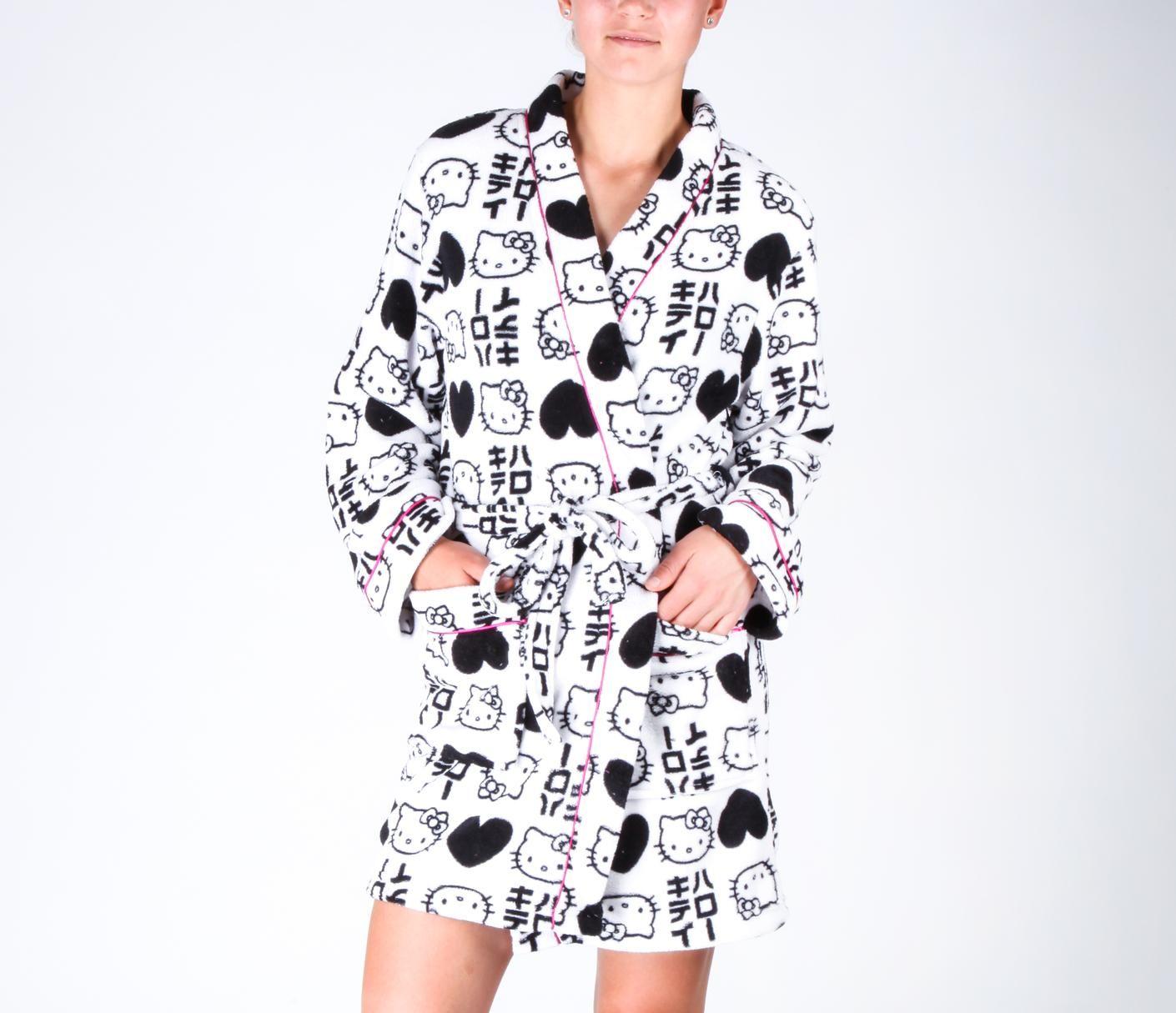 Hello Kitty Jrs Kimono Robe $28.00