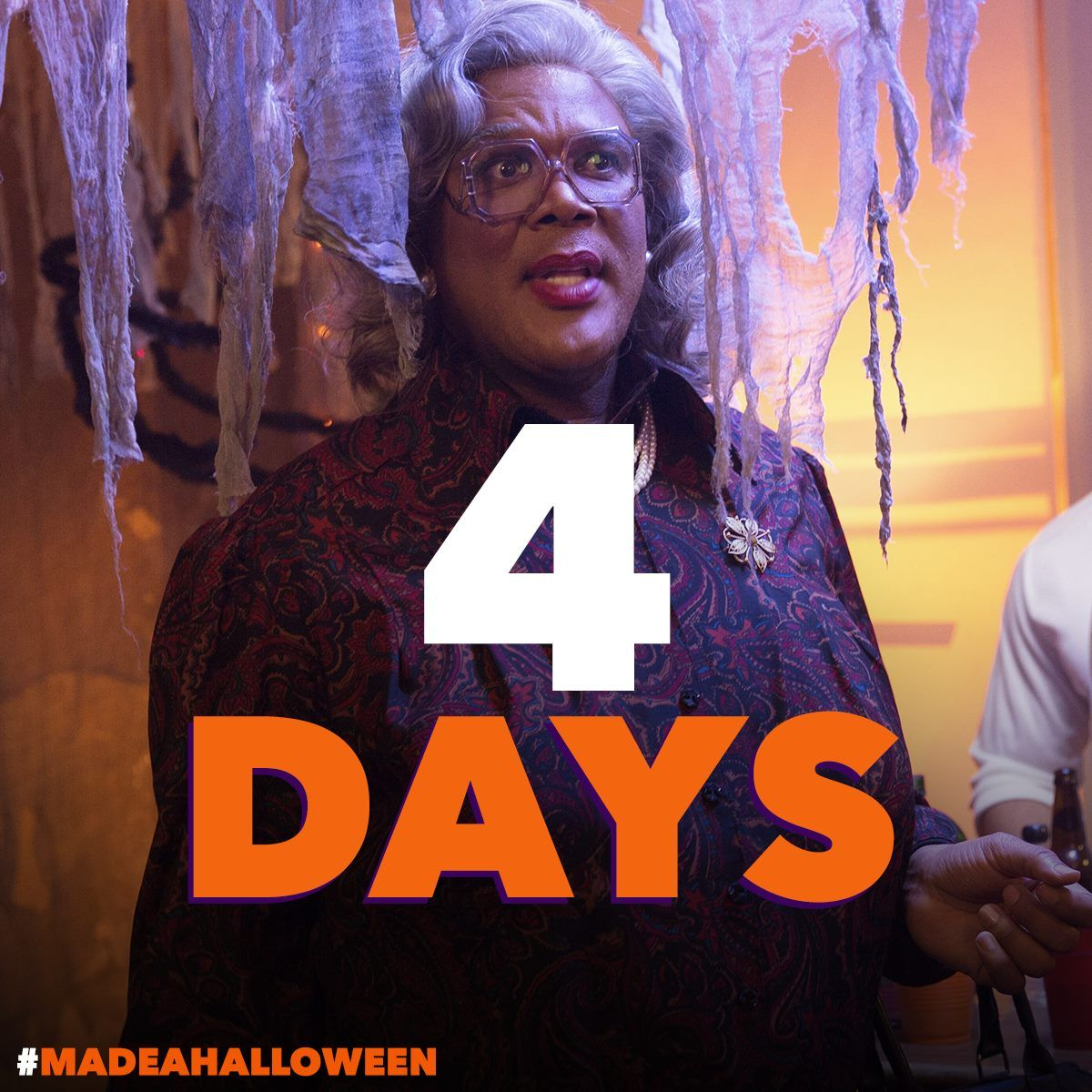 In 4 DAYS, prepare to get silly scared with Tyler Perry's