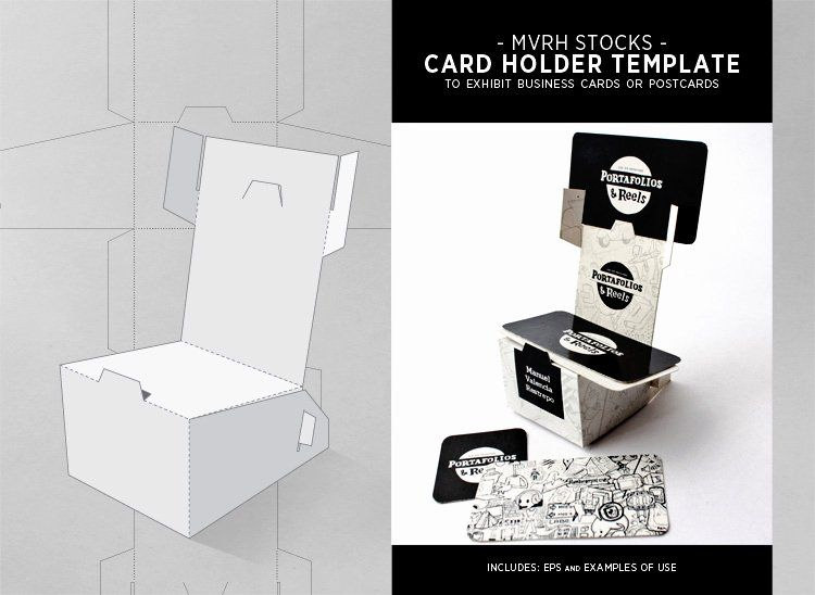 Card Holder Template Lovely Card Holder Template By Mvrh On Deviantart Elegant Business Cards Templates Stunning Business Cards