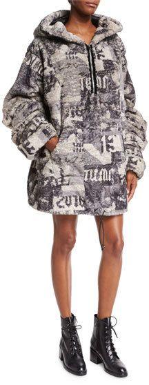 9c8a27018316 FENTY PUMA by Rihanna Hooded Oversized Faux-Fur Jacket