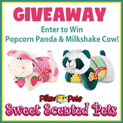 It S A Pillow It S A Pet And Now It S Got A Scent Giveaway Game On Mom Animal Pillows Scented Pillows Pets