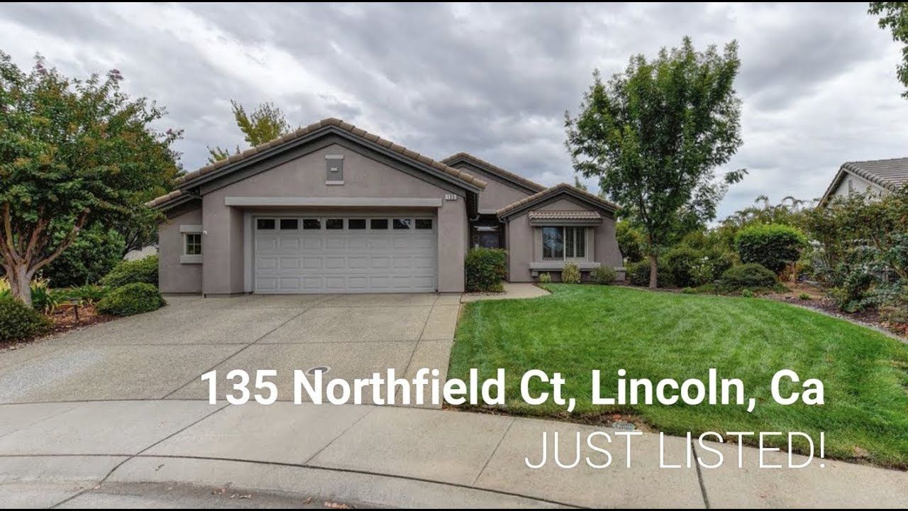 135 Northfield Ct Lincoln Ca 95648 Sun City Lincoln Hills