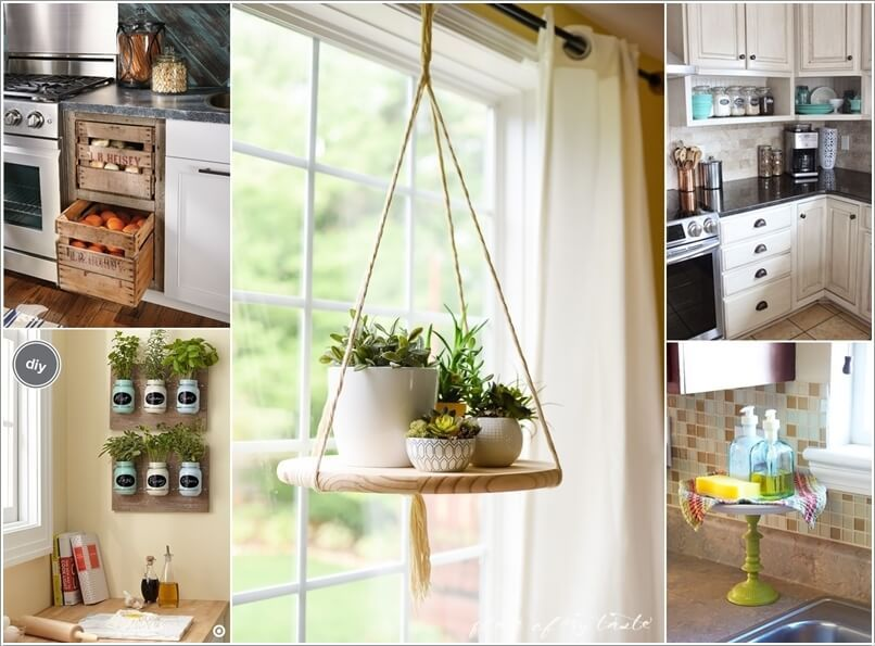 10 Cool and Creative DIY Projects for Your Kitchen a Clever Ideas