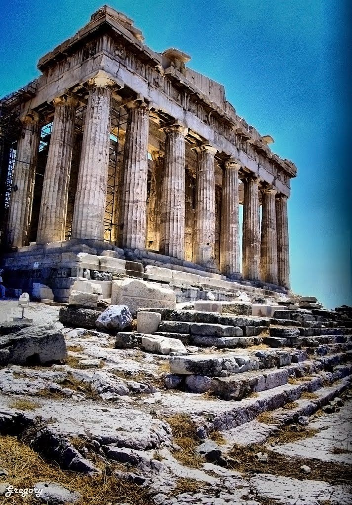 greek architecture facts