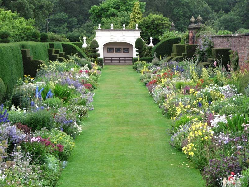 Pin by candice on borders British garden, Arley hall