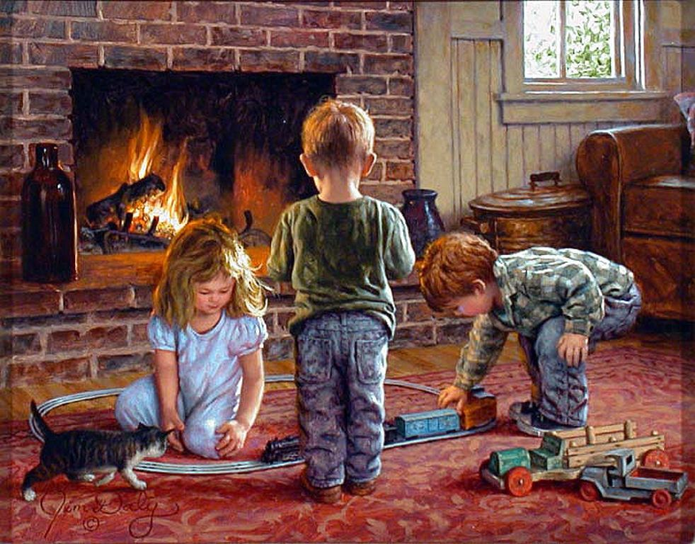 Jim daly b1957 982x768 art artwork painting