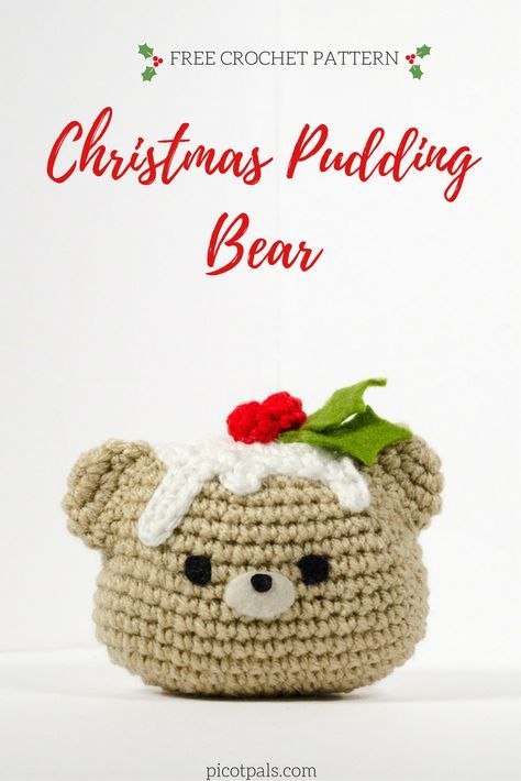 Christmas Pudding Bear | Pinterest
