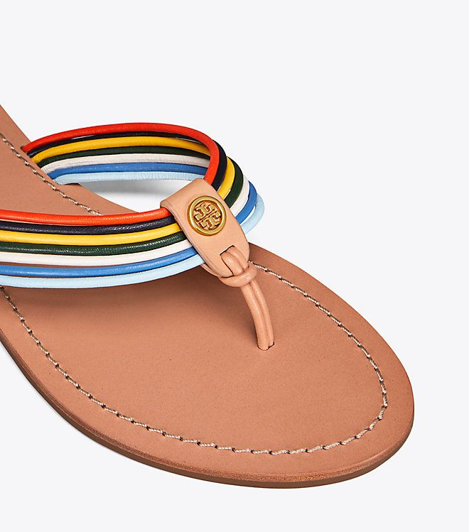 07b9b073edd Visit Tory Burch to shop for Sienna Flat Thong Sandal and more Womens  Spring Whites. Find designer shoes