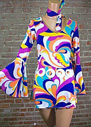 KLASSIC LINE VINTAGE CLOTHING COSTUME Costumes Womens MINI DRESS