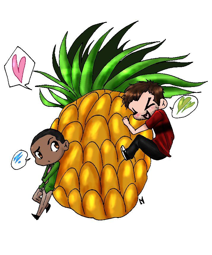 pineapple-assassin  Shawn and Gus. …and a Pineapple.