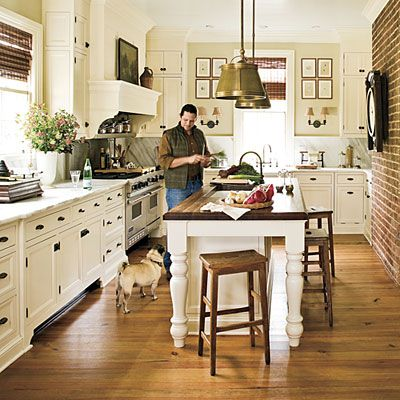 Tour A Restored 19th Century Farmhouse White Farmhouse Kitchens Southern Living Magazine And