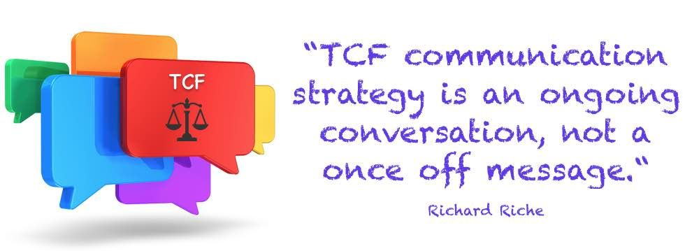 Tcf Communication Strategy Is An Ongoing Conversation  Embedding