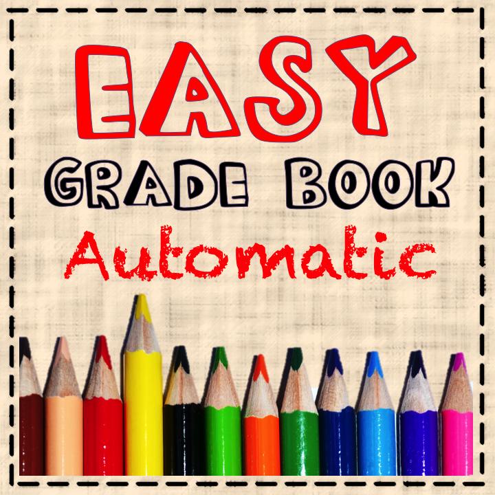 Automatic Grade Book Excel Grade Book Number Grades