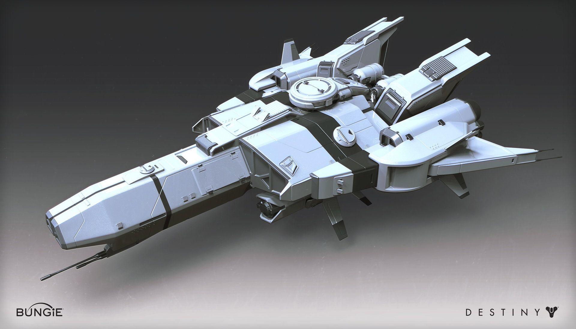ArtStation - Destiny - House of Wolves - Player Ship, Mark ...