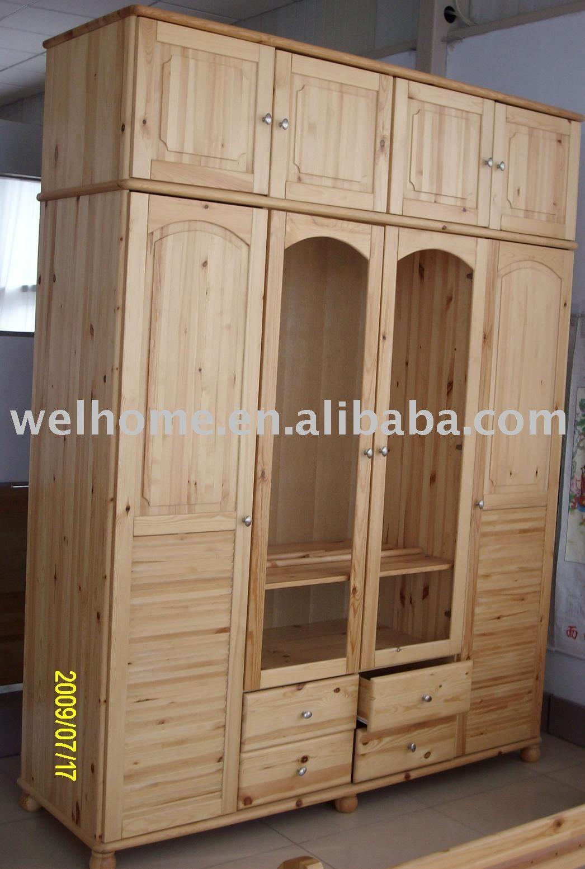F8304 armario de madera/clothes armario/muebles madera-imagen ...