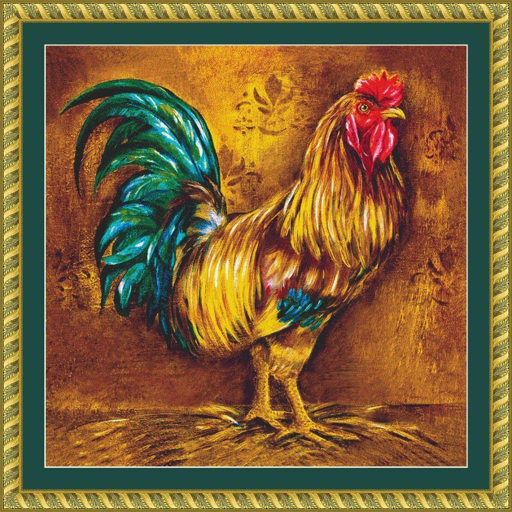 - Pop Art Rooster Tile Murals, Shine Tile, Mural