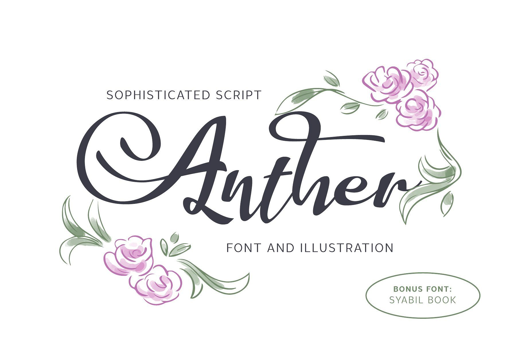 Download Anther Font + Free Illustration by Eko Bimantara on ...
