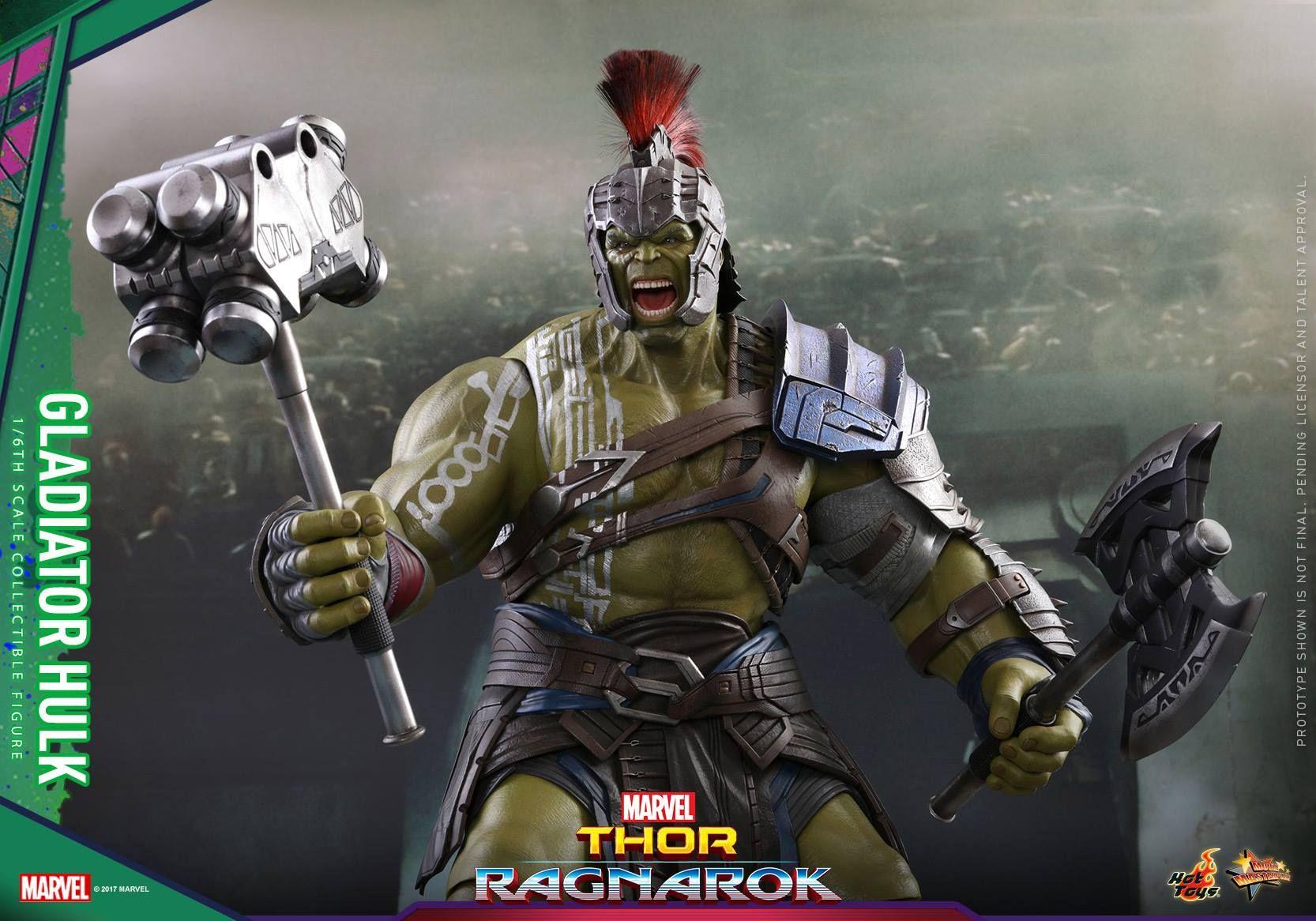 image result for thor ragnarok hulk armor hilde the hammer of