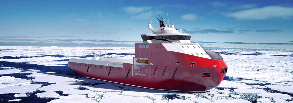 Ice-breaker special vessel - IBSV 07 | Aircraft in 2019