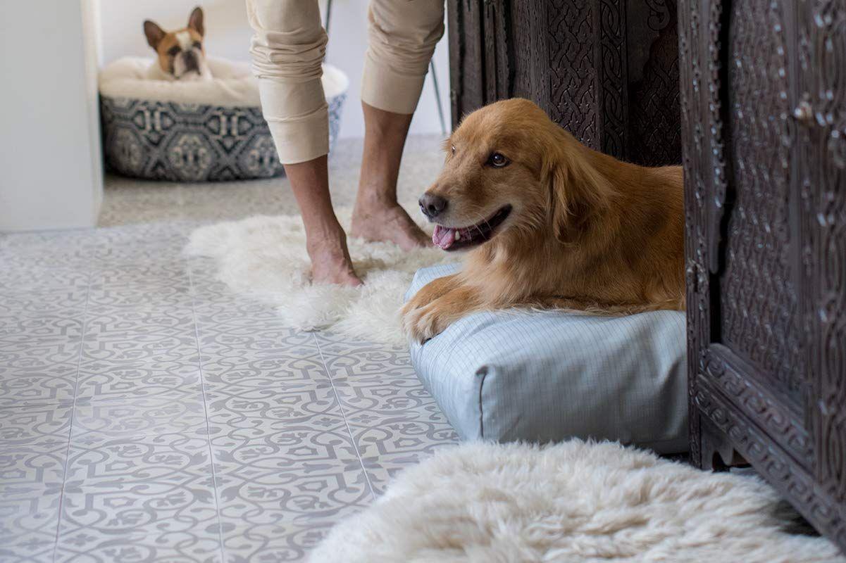 K9 Ballistics Tough Rectangle Nesting Large Dog Bed
