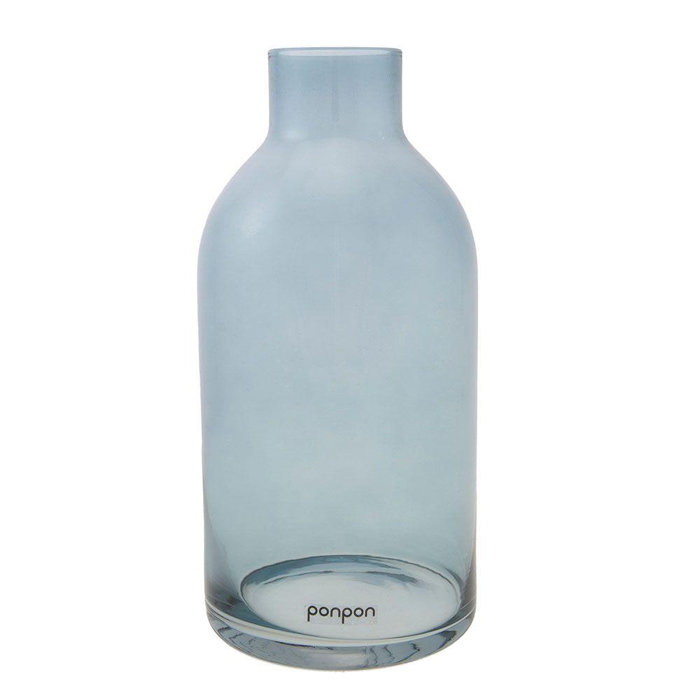 Bottle vase/lysestage 255 mm, blå 281 kr. - RoyalDesign.dk