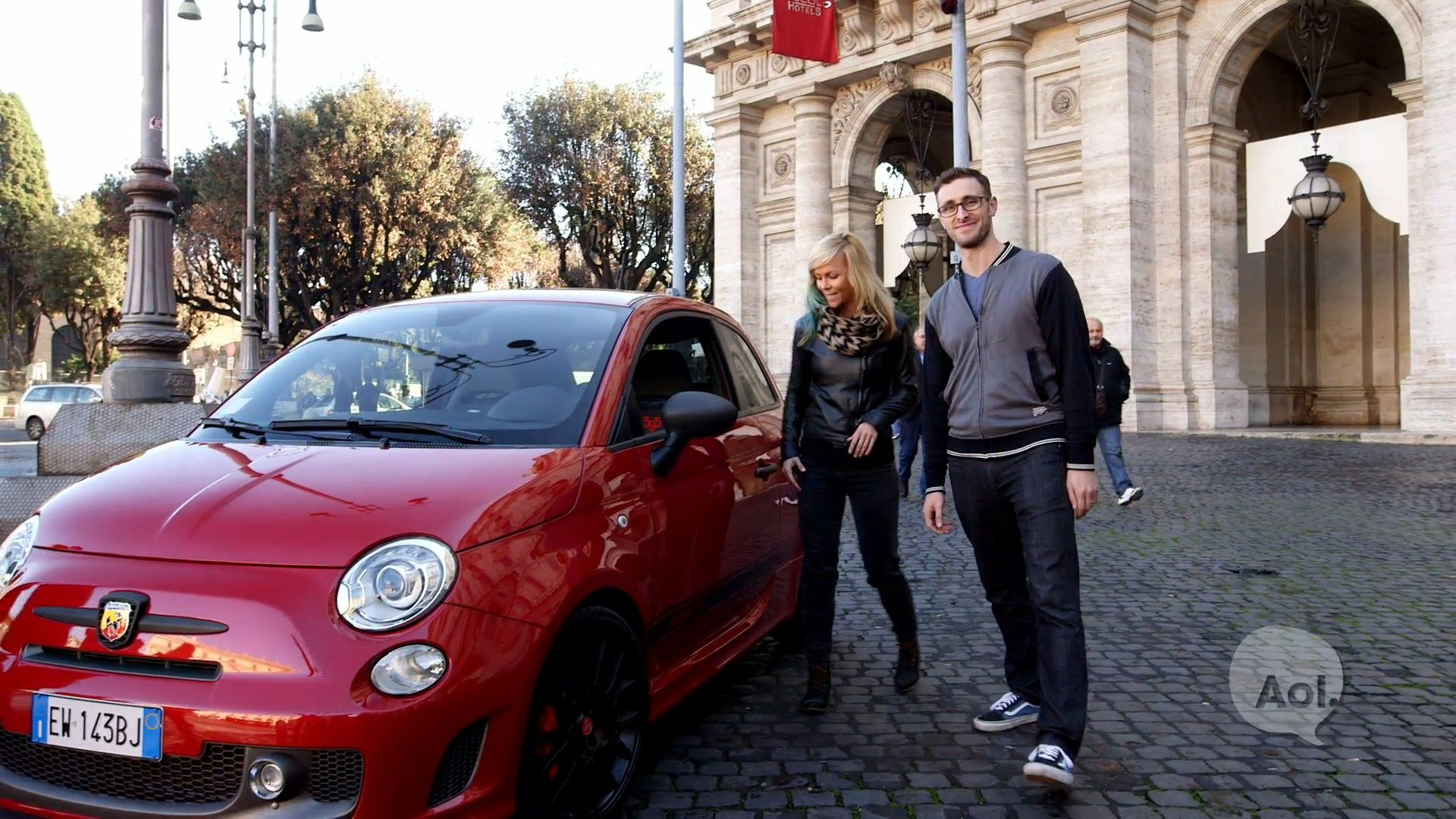 Is there anything more #ThrowbackThursday than the Eternal City of Rome? Watch this, then come down a test drive an Abarth. Or any of our 500 models, Pop, X or the Pope's personal fave, the 500L! http://www.autoblog.com/2015/10/08/drive-in-rome-the-list-0476/