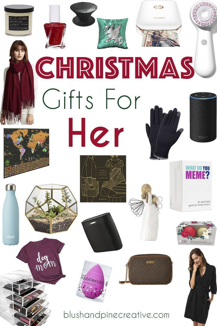 Christmas gift ideas for her! Whether you need something ...