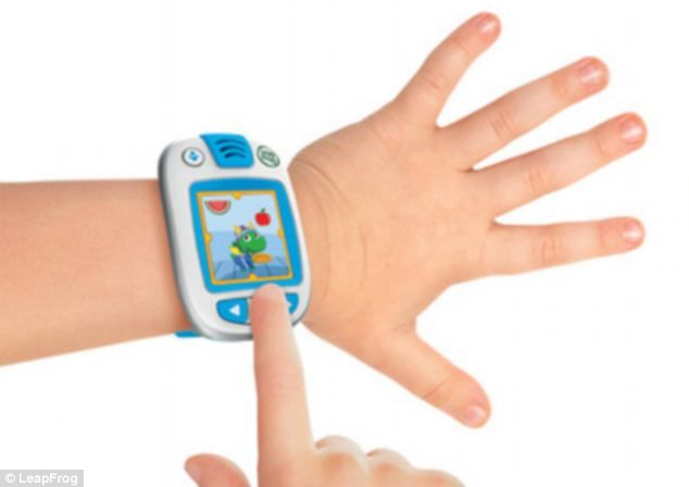 Smartwatch for kids lets parents follow their every move