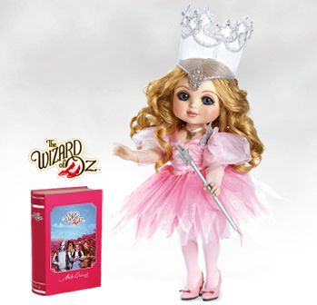 Looking for Wizard of Oz Dolls? Check out our Adora Belle-Glinda, truly a collectible doll that has been handcrafted with the special attention to detail that is the hallmark of all Marie Osmond dolls.