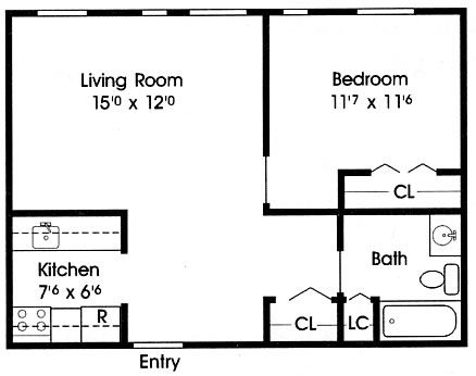 Convert garage to apartment plans prefab garage kits - Garage conversion floor plans ...
