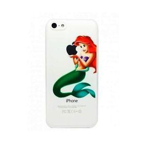 iPhone 5/5S Coque rigide transparente Ariel la petite sirène ...