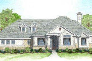 Houseplans Com Mediterranean Front Elevation Plan 80 122 Country Style House Plans Mediterranean Style House Plans French House Plans