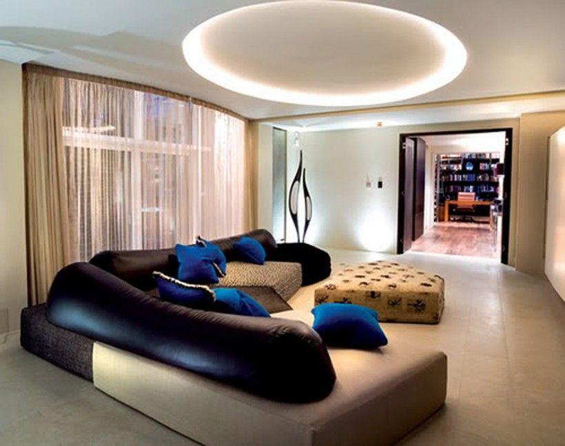Interior : Home Interior Ideas With Beautiful Recessed Led ...