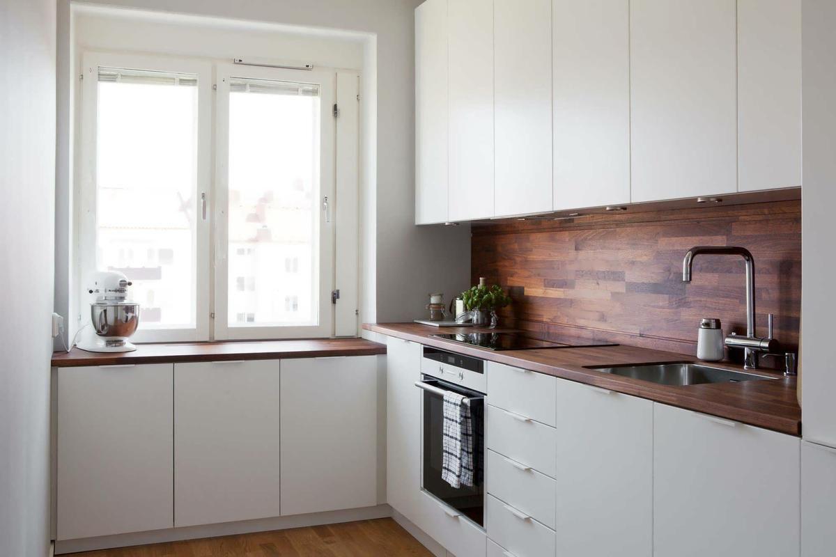 Inspiraci N Para Cocinas Peque As Cocina Peque A Alacena Y Peque Os