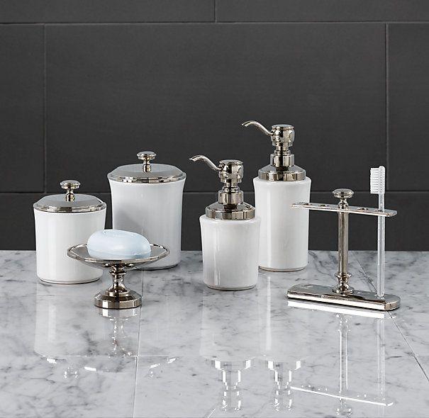 Restoration Hardware Bathroom Amazing, Polished Nickel Bathroom Accessories