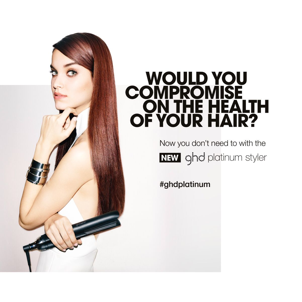 We Are In Love With The New Platinum No Excuses For Damaged Hair Catokan Styler Rotating Iron Curler Ghd Compromise Styling