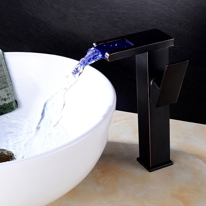 Bathroom Vessel Sink Glass Ceramic Tempered Single Bath Bowl