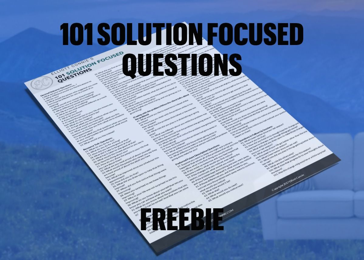 Pin On Solution Focused Freebies For Therapists