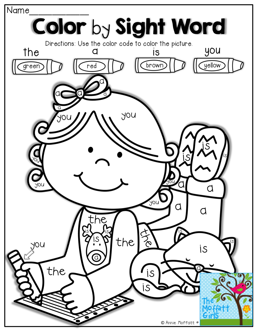 Color By Sight Words And Tons Of Other Fun Resources