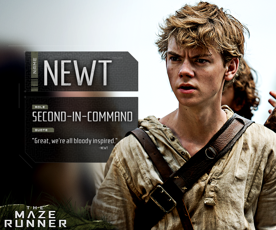 Newt is a bloody good Glader.