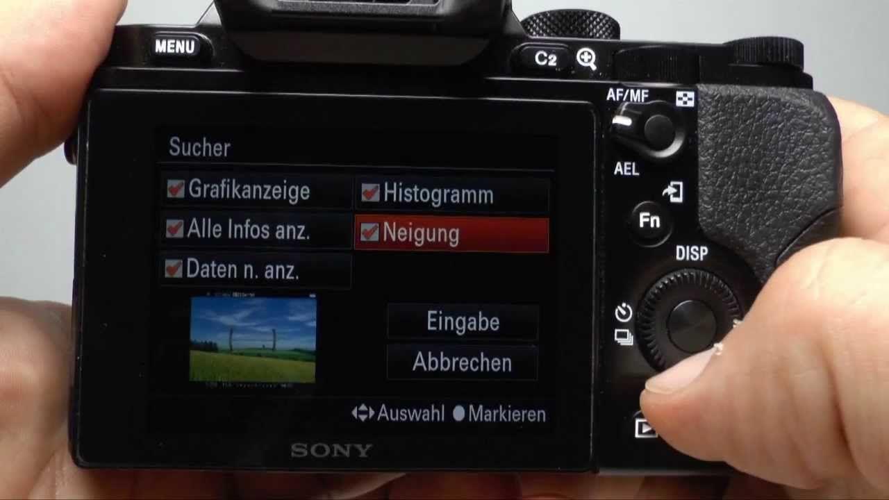 Sony Alpha 7 / 7R Tipps & Tricks (Deutsche Version