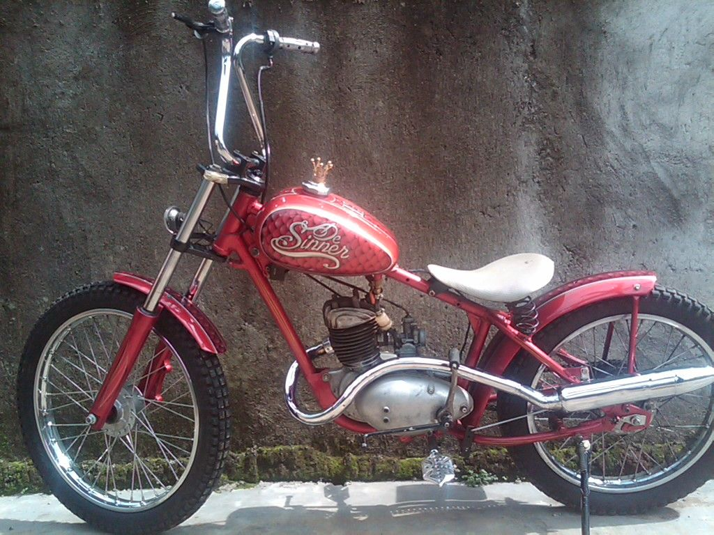 My Old Bike Reborn Dkw 1953 Old Bikes Bike Biker