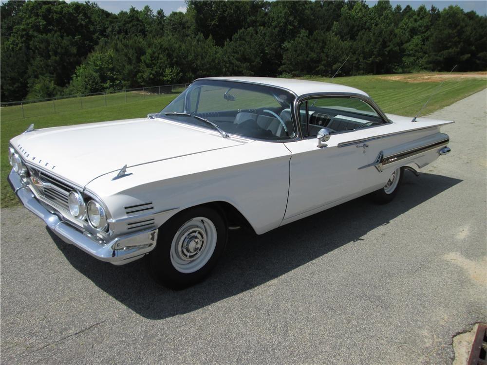 1960 Chevrolet Impala 2 Door Hardtop Classic Cars Classic Cars